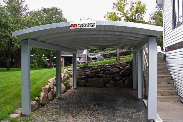 Small Metal Shelters : Custom designed metal carports the ultimate carport