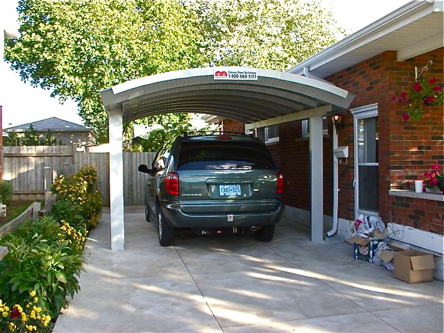 Custom designed metal carports the ultimate carport for Free standing carport plans