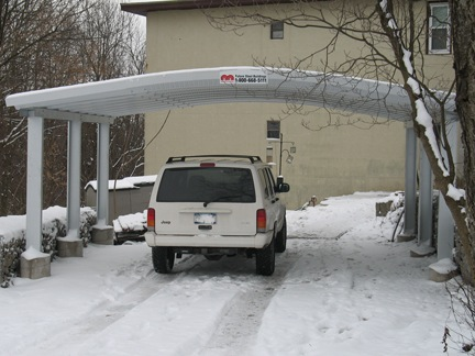 Carport photo gallery the ultimate carport for Garage packages nova scotia